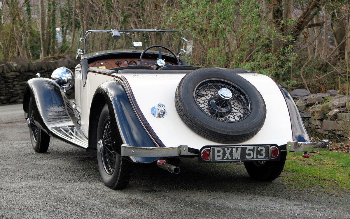 1935 Bentley 3 ½  Litre 'Cutaway Door' Open Tourer B192DG For Sale (picture 2 of 6)