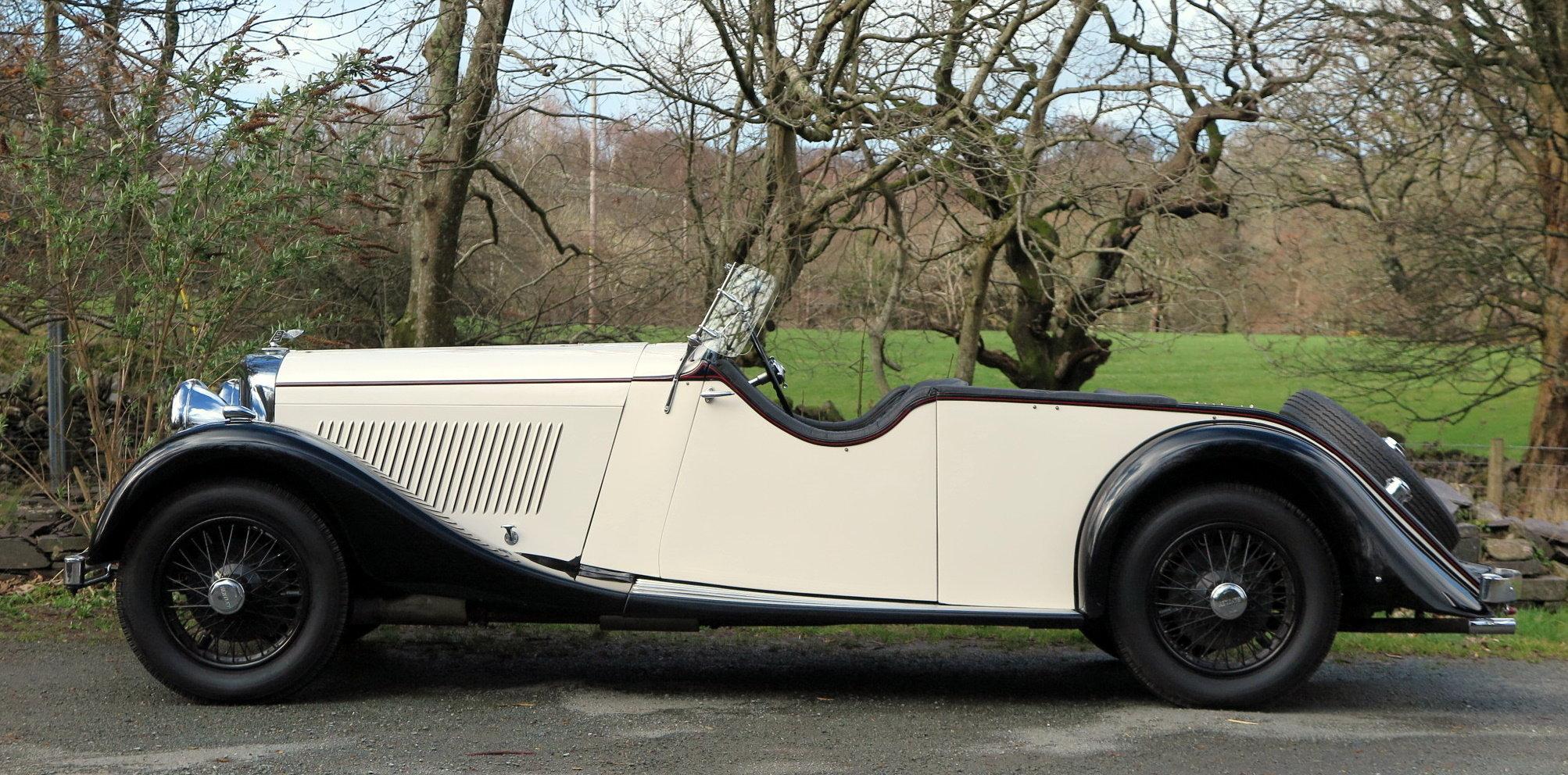 1935 Bentley 3 ½  Litre 'Cutaway Door' Open Tourer B192DG For Sale (picture 3 of 6)