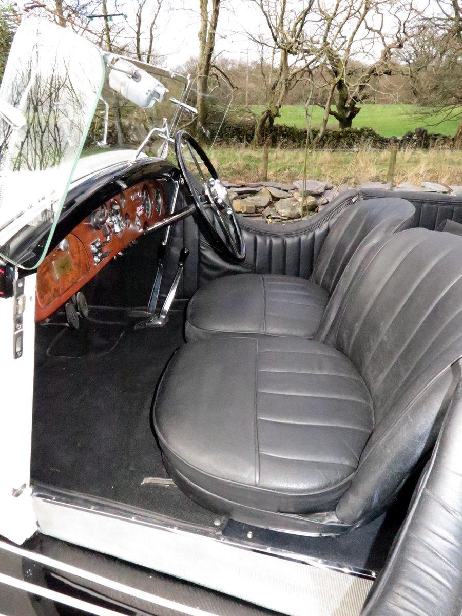 1935 Bentley 3 ½  Litre 'Cutaway Door' Open Tourer B192DG For Sale (picture 4 of 6)