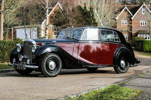 1949 Bentley MK VI Lightweight Saloon by H.J. Mulliner