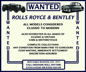 WANTED! BENTLEY Wanted