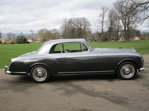 1957 Bentley S1 Continental Coupe by Park Ward