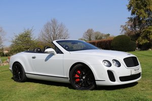 2010 BENTLEY GTC SUPERSPORTS