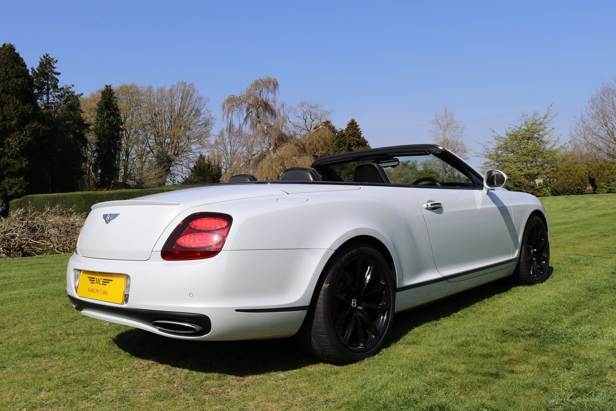 2010 BENTLEY GTC SUPERSPORTS For Sale (picture 6 of 6)