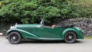 "1936 Bentley 4 ¼ Vanden Plas Style ""Cut Away"" Tourer B1GP"