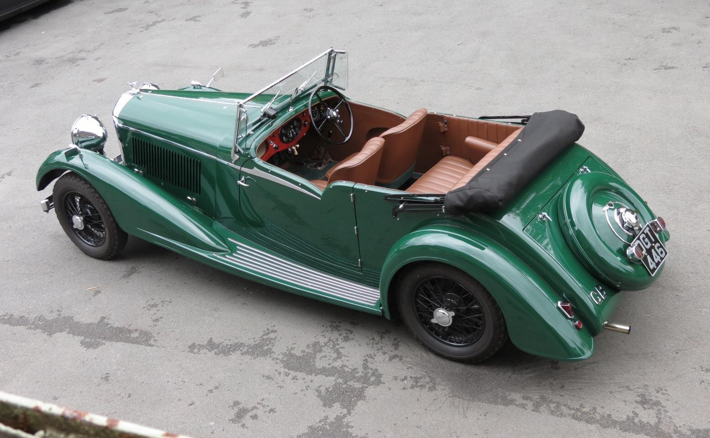 """1936 Bentley 4 ¼ Vanden Plas Style """"Cut Away"""" Tourer B1GP For Sale (picture 2 of 6)"""