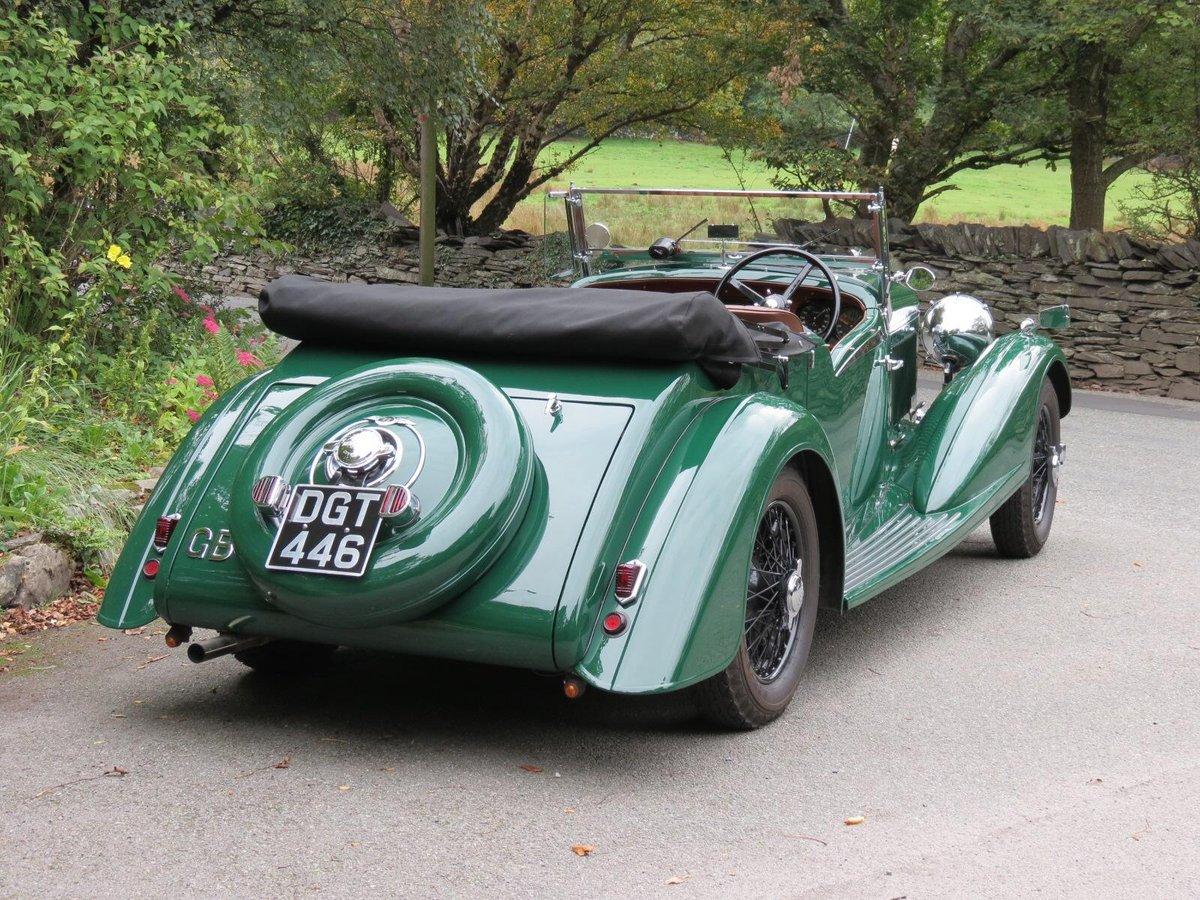 """1936 Bentley 4 ¼ Vanden Plas Style """"Cut Away"""" Tourer B1GP For Sale (picture 3 of 6)"""