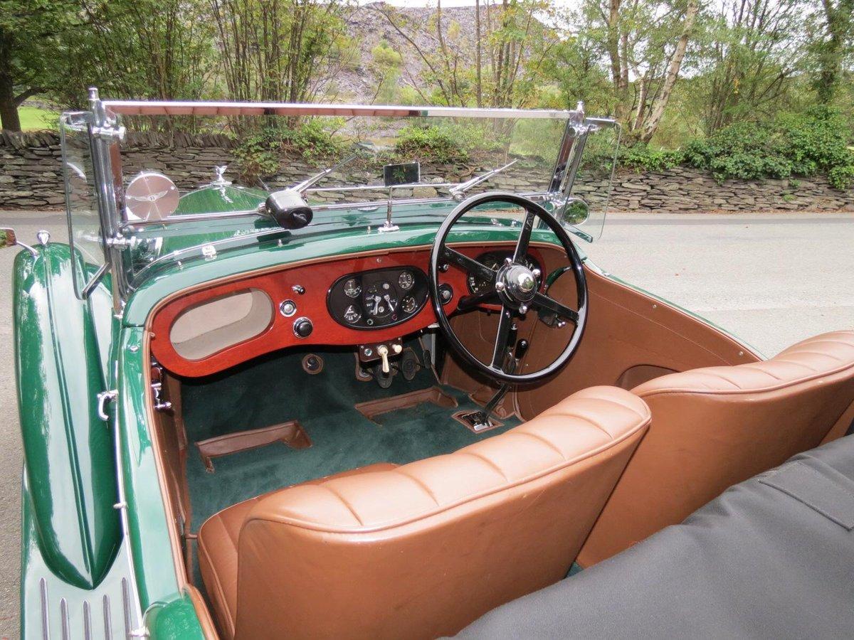 """1936 Bentley 4 ¼ Vanden Plas Style """"Cut Away"""" Tourer B1GP For Sale (picture 4 of 6)"""