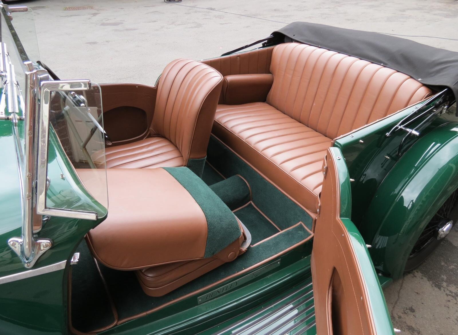 """1936 Bentley 4 ¼ Vanden Plas Style """"Cut Away"""" Tourer B1GP For Sale (picture 6 of 6)"""