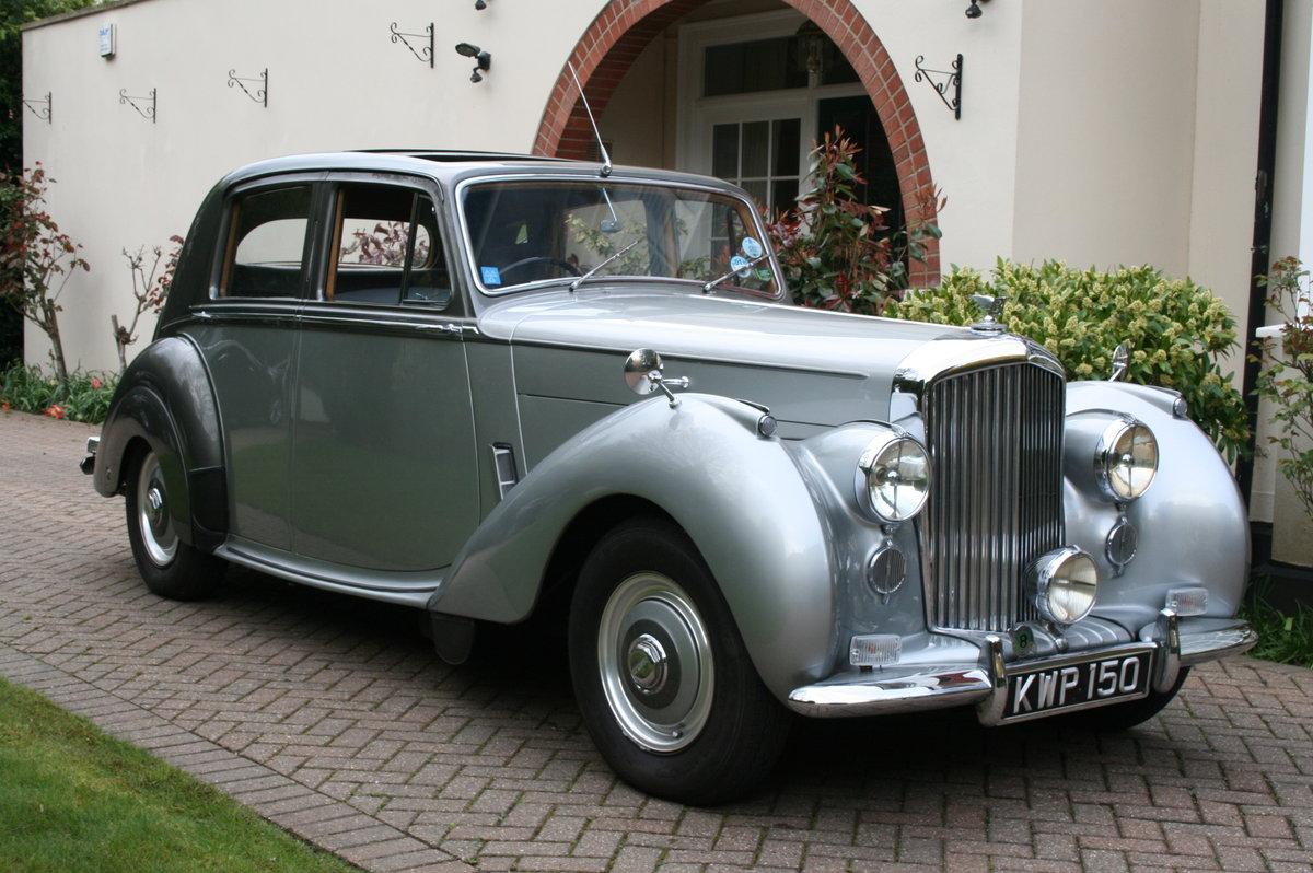 1952 Bentley MK V1 Big Bore. Exceptional Throughout  For Sale (picture 1 of 6)