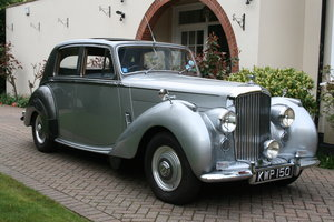 1952 Bentley MK V1 Big Bore. Exceptional Throughout  For Sale