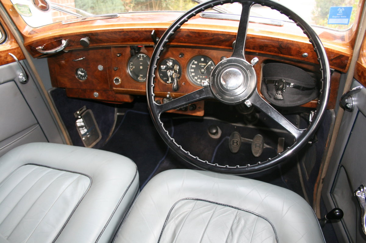 1952 Bentley MK V1 Big Bore. Exceptional Throughout  For Sale (picture 3 of 6)