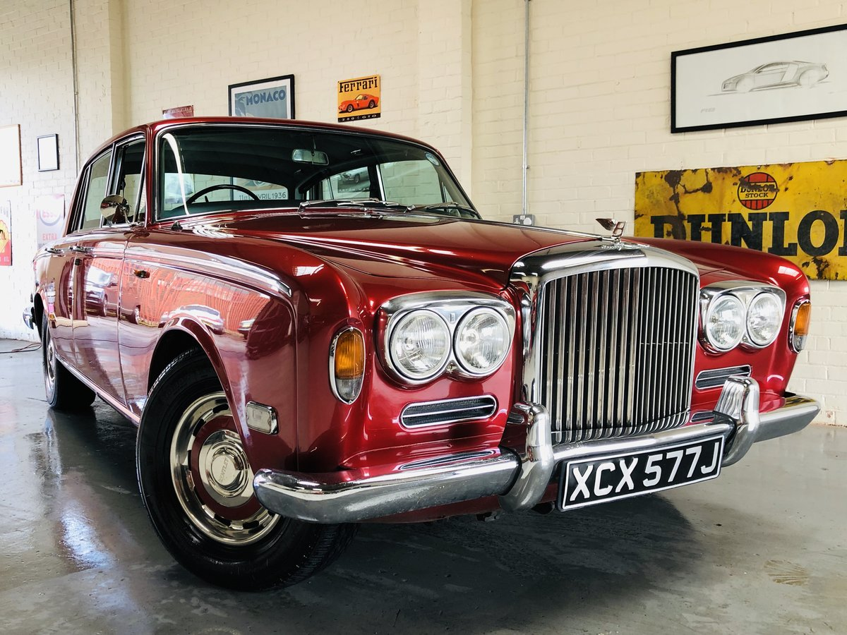 1971 BENTLEY T1 - REGAL RED, UNBELIEVEABLE VALUE SOLD (picture 1 of 6)