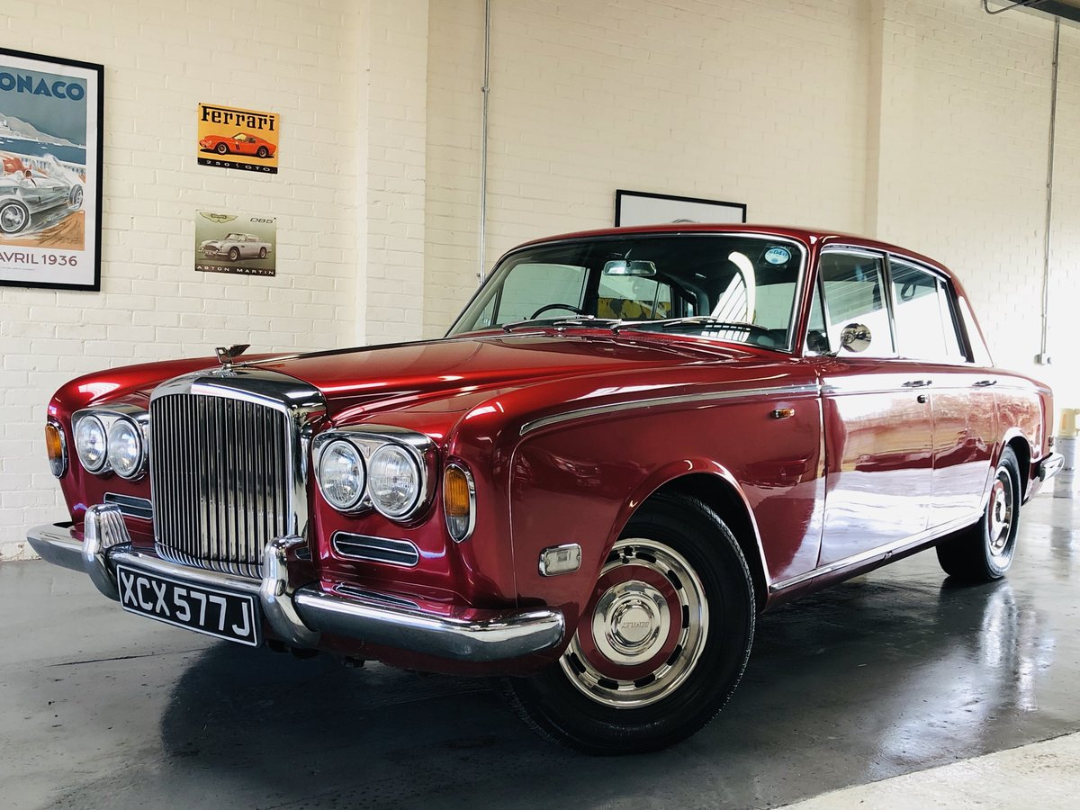 1971 BENTLEY T1 - REGAL RED, UNBELIEVEABLE VALUE SOLD (picture 2 of 6)