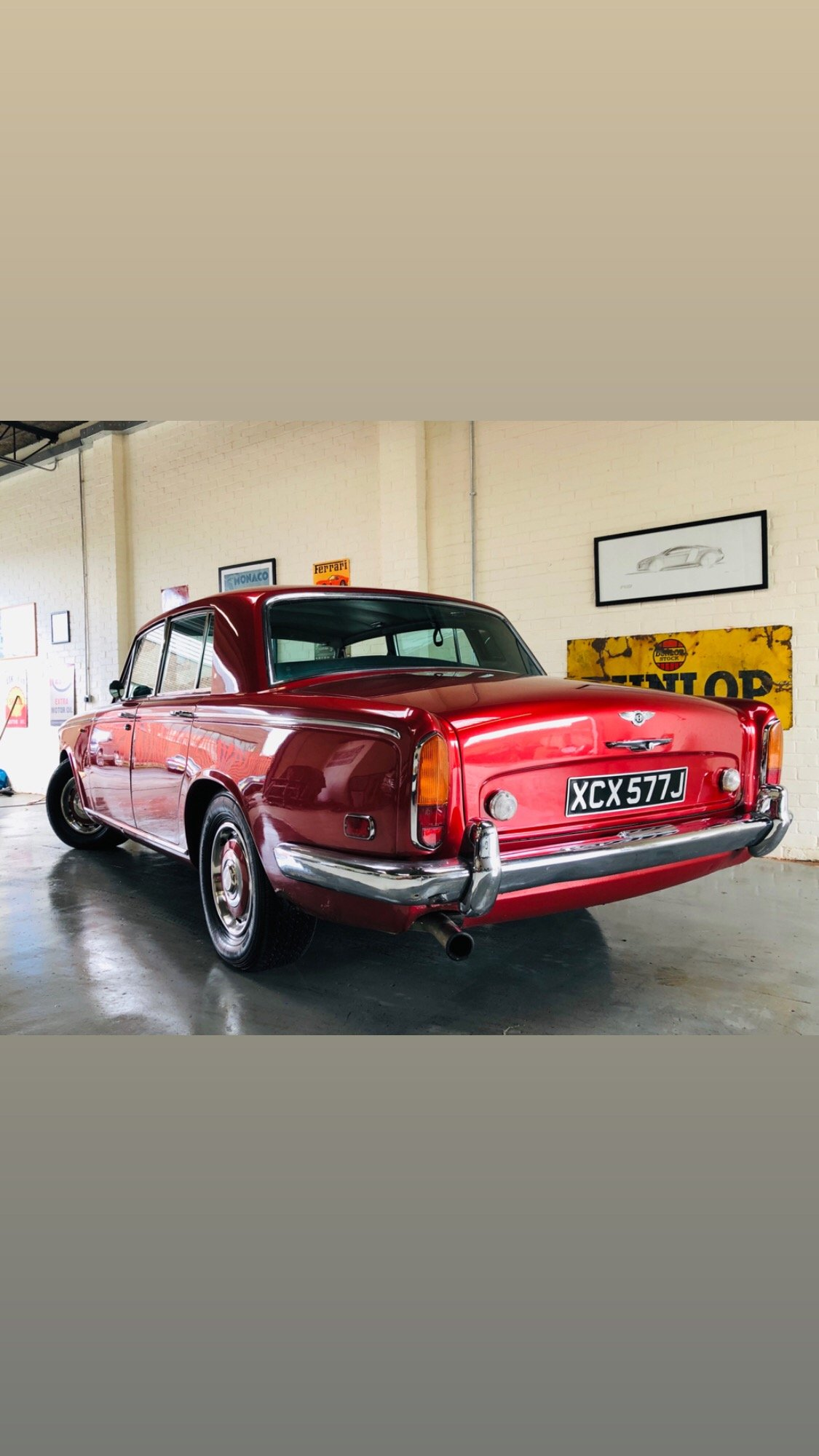 1971 BENTLEY T1 - REGAL RED, UNBELIEVEABLE VALUE SOLD (picture 3 of 6)