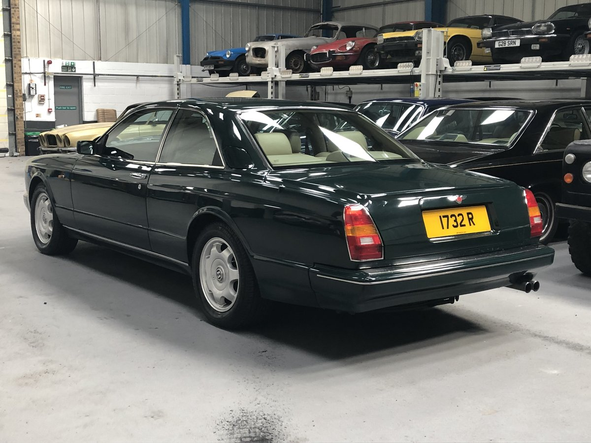 1994 Bentley Continental R Coupé Mulliner Park Ward  For Sale (picture 4 of 6)
