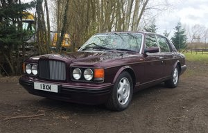 1996 Bentley Brooklands LPT For Sale by Auction