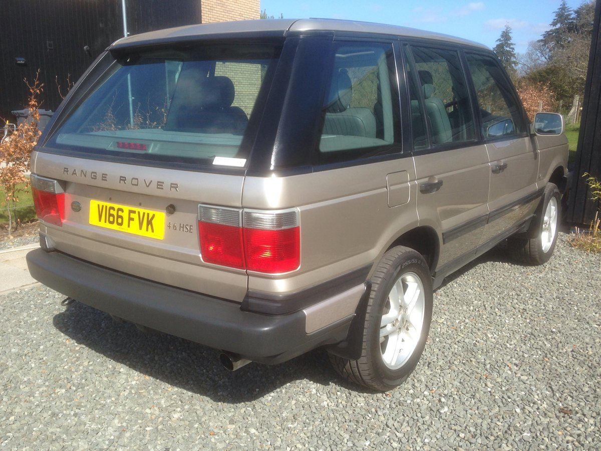 2000 Range Rover 1999 P39 4.6 HSE For Sale (picture 3 of 6)