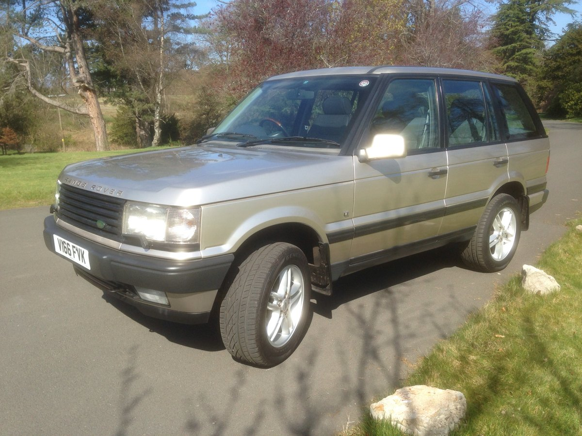 2000 Range Rover 1999 P39 4.6 HSE For Sale (picture 2 of 6)