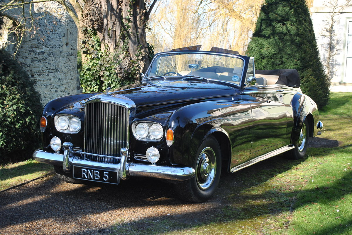 Delorean Car For Sale >> 1964 BENTLEY S3 CONVERTIBLE For Sale | Car And Classic