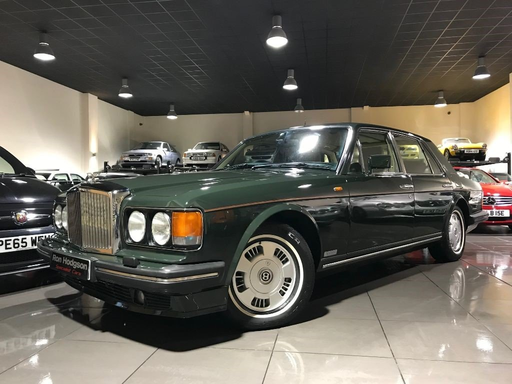 1994 BENTLEY BROOKLANDS 6.8 LWB REAR ENTERTAINMENT 85,422 MILES For Sale (picture 1 of 6)