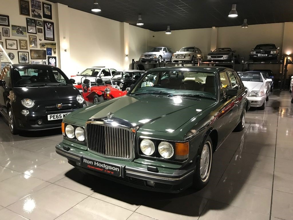 1994 BENTLEY BROOKLANDS 6.8 LWB REAR ENTERTAINMENT 85,422 MILES For Sale (picture 6 of 6)