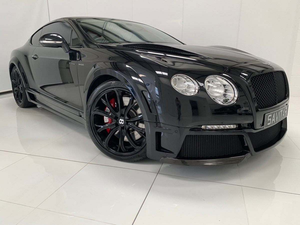 2014 Bentley Continental GT Speed ONYX Series Cost £250,000 New! For Sale (picture 4 of 6)