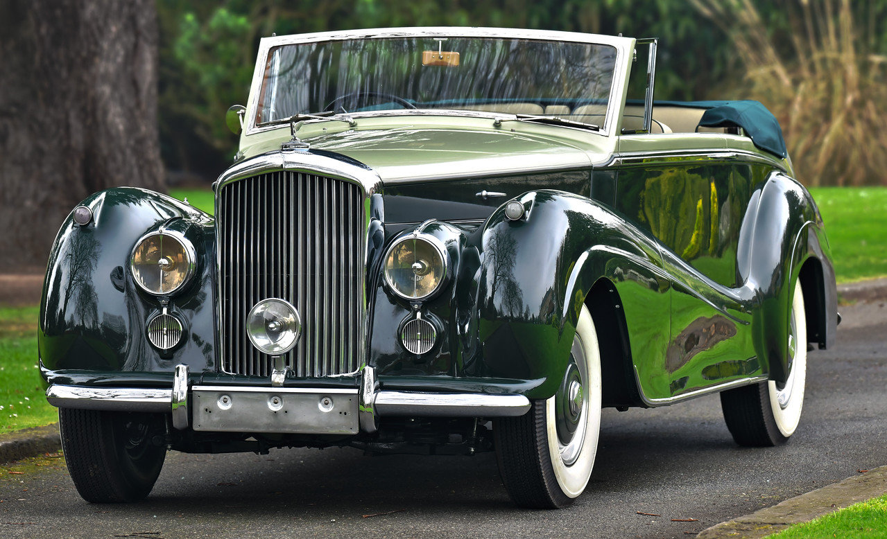 1954 Bentley R Type Automatic  Park Ward Convertible For Sale (picture 1 of 6)