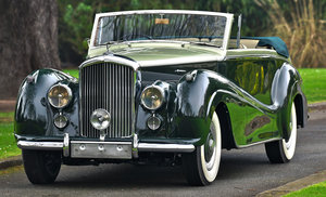 1954 Bentley R Type Automatic  Park Ward Convertible For Sale