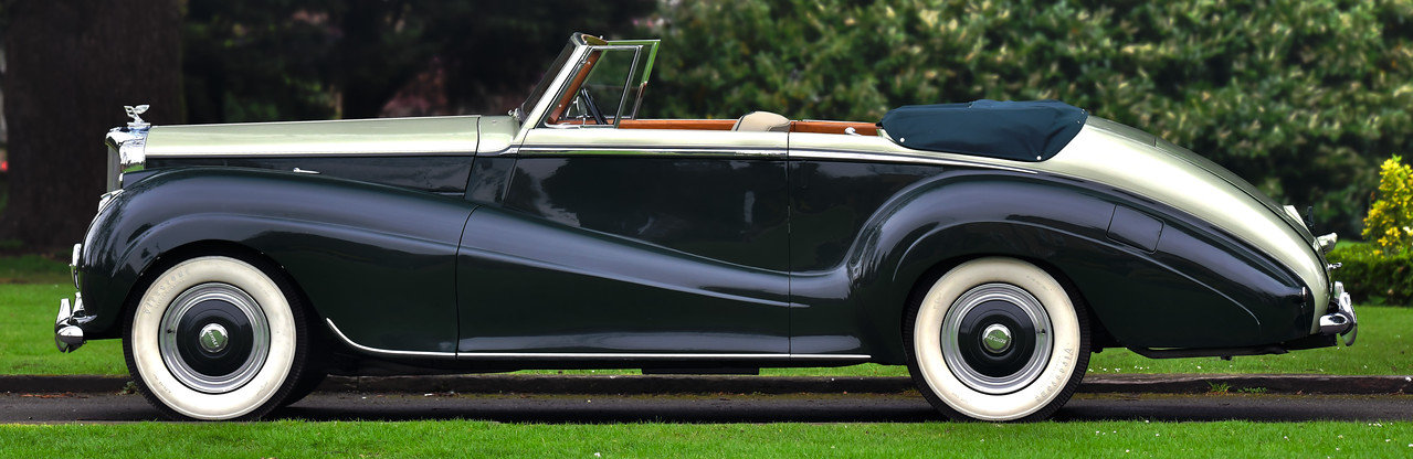 1954 Bentley R Type Automatic  Park Ward Convertible For Sale (picture 2 of 6)