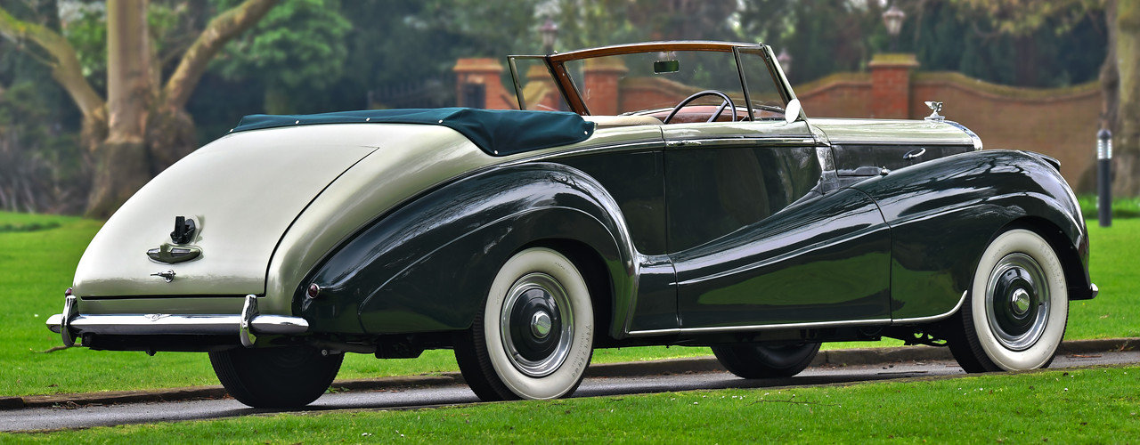 1954 Bentley R Type Automatic  Park Ward Convertible For Sale (picture 3 of 6)