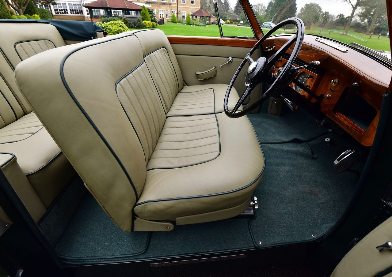 1954 Bentley R Type Automatic  Park Ward Convertible For Sale (picture 4 of 6)