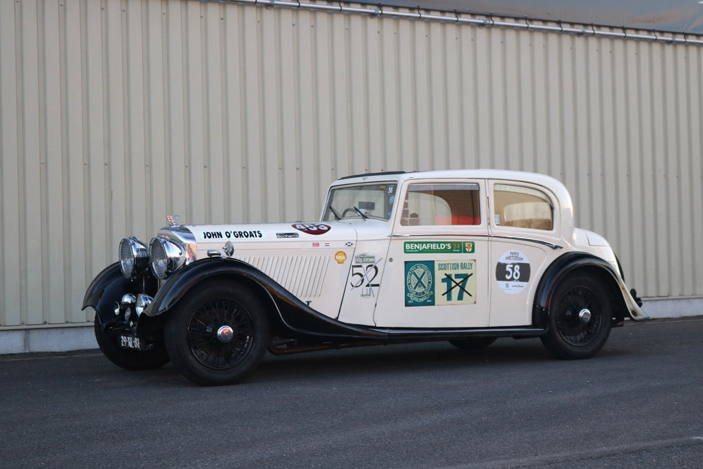 1934 Bentley 3.5l Thrupp & Maberley Saloon For Sale (picture 1 of 6)
