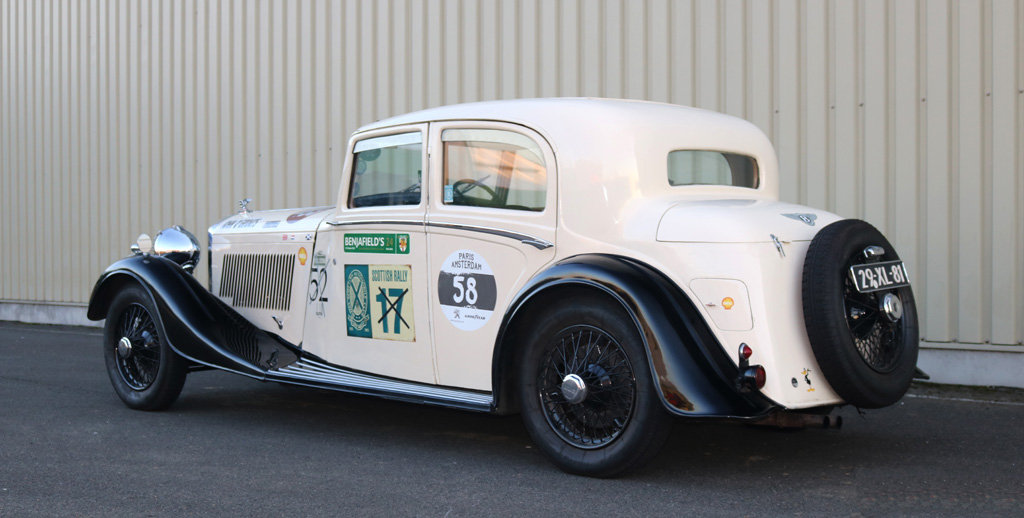 1934 Bentley 3.5l Thrupp & Maberley Saloon For Sale (picture 2 of 6)