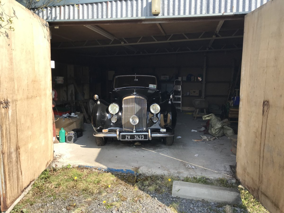 1947 Bently Mk VI steel bodied saloon For Sale (picture 6 of 6)