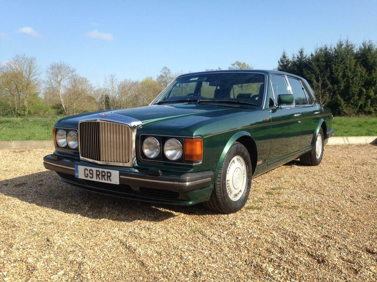 1990 Bentley Turbo R 6.8 auto BRG/Beluga 57k Miles SH Immacu For Sale (picture 1 of 6)