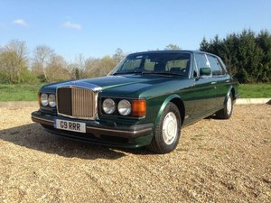 1990 Bentley Turbo R 6.8 auto BRG/Beluga 57k Miles SH Immacu For Sale