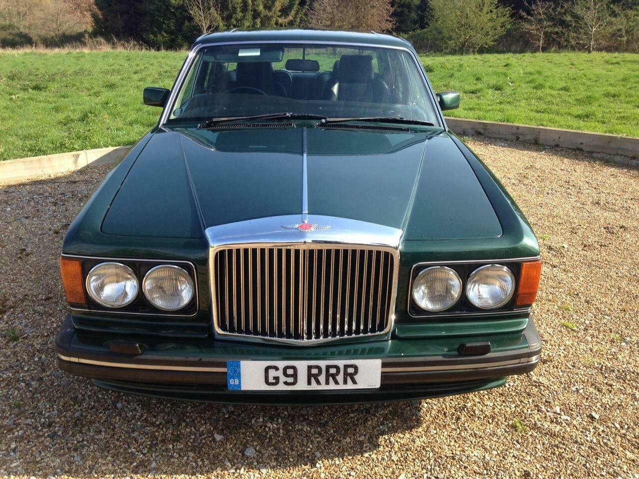 1990 Bentley Turbo R 6.8 auto BRG/Beluga 57k Miles SH Immacu For Sale (picture 2 of 6)