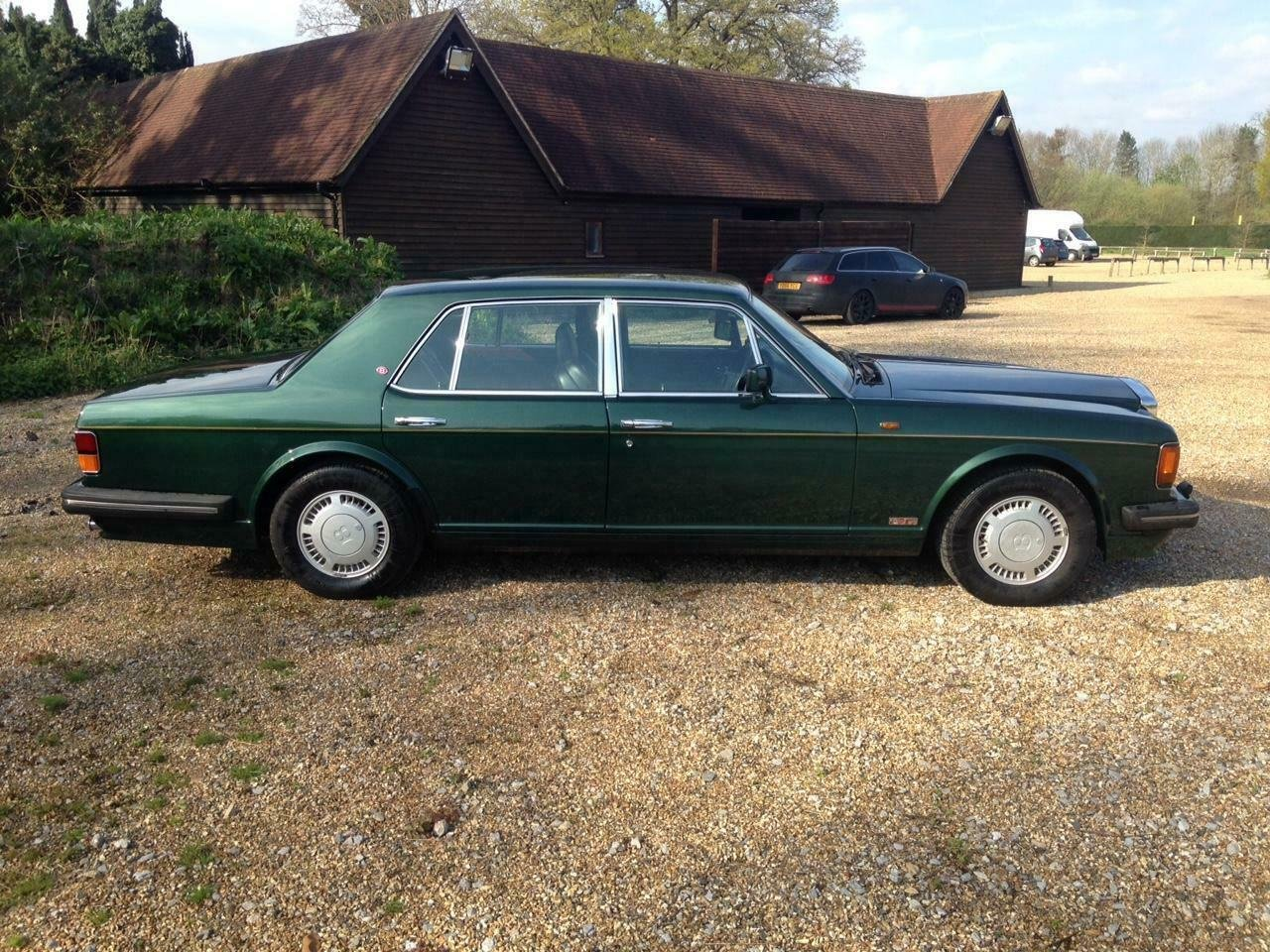 1990 Bentley Turbo R 6.8 auto BRG/Beluga 57k Miles SH Immacu For Sale (picture 3 of 6)