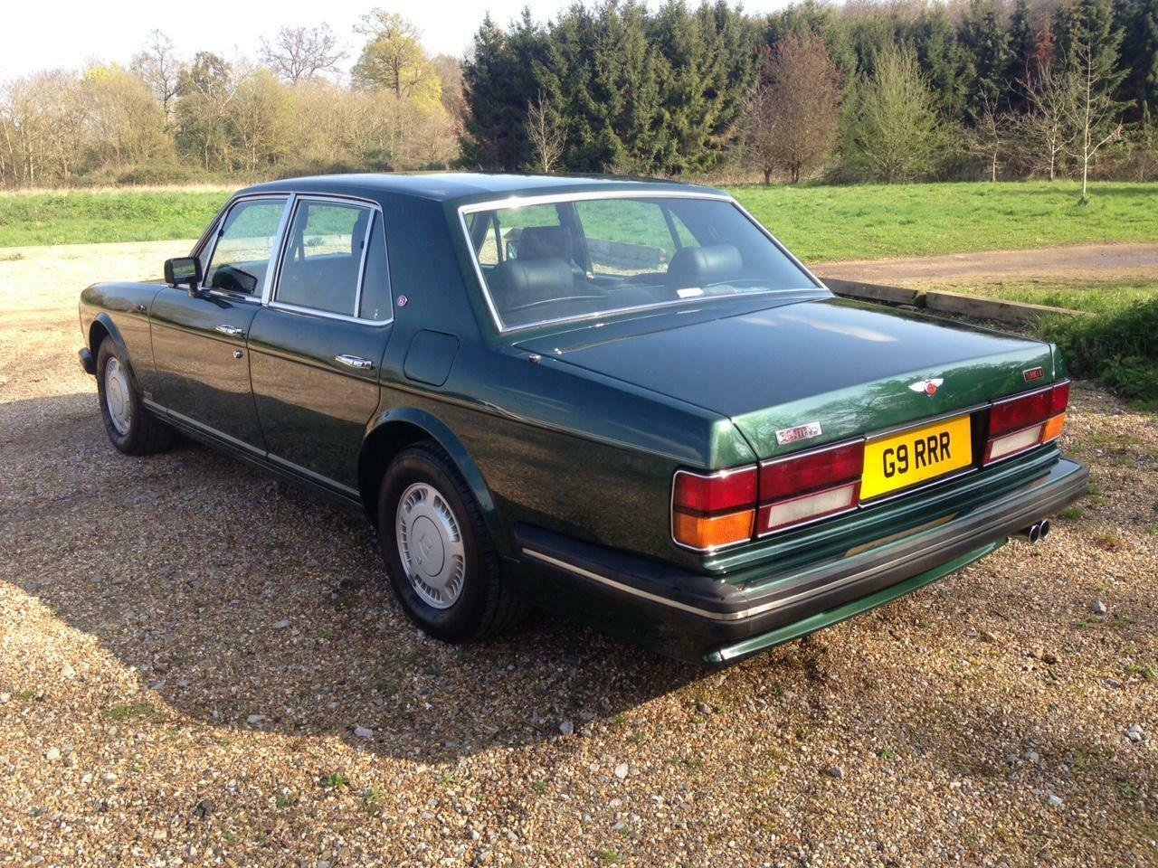 1990 Bentley Turbo R 6.8 auto BRG/Beluga 57k Miles SH Immacu For Sale (picture 4 of 6)