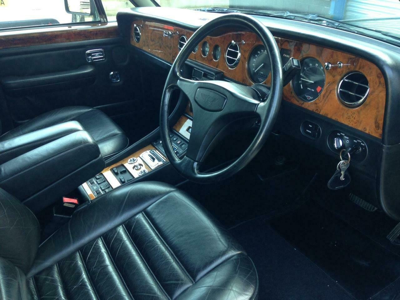 1990 Bentley Turbo R 6.8 auto BRG/Beluga 57k Miles SH Immacu For Sale (picture 5 of 6)