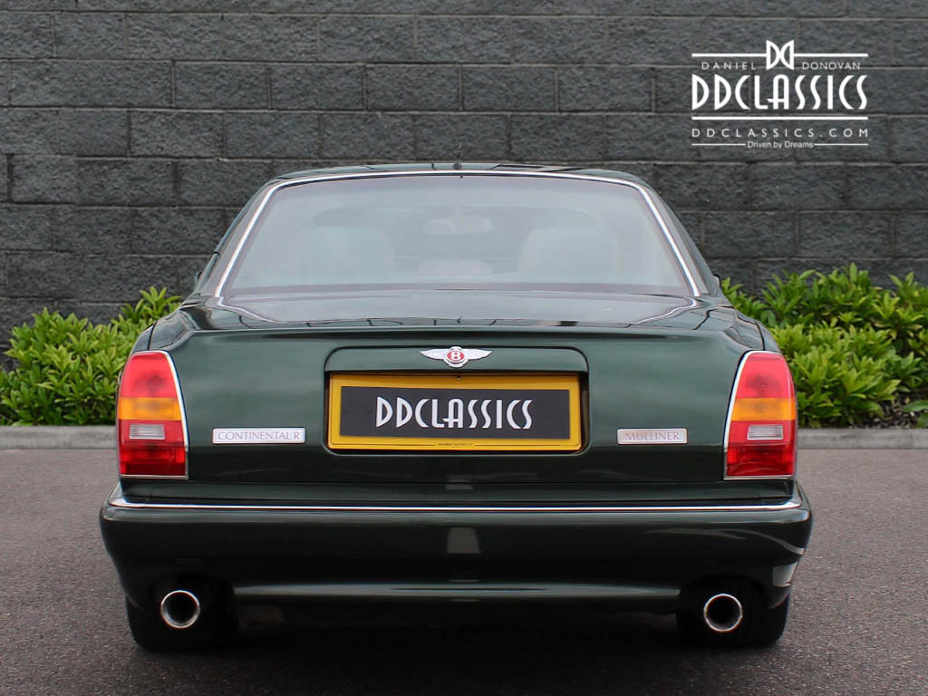 1998 Bentley Continental R Mulliner Coupe 'Jack Barclay' Lim For Sale (picture 8 of 12)