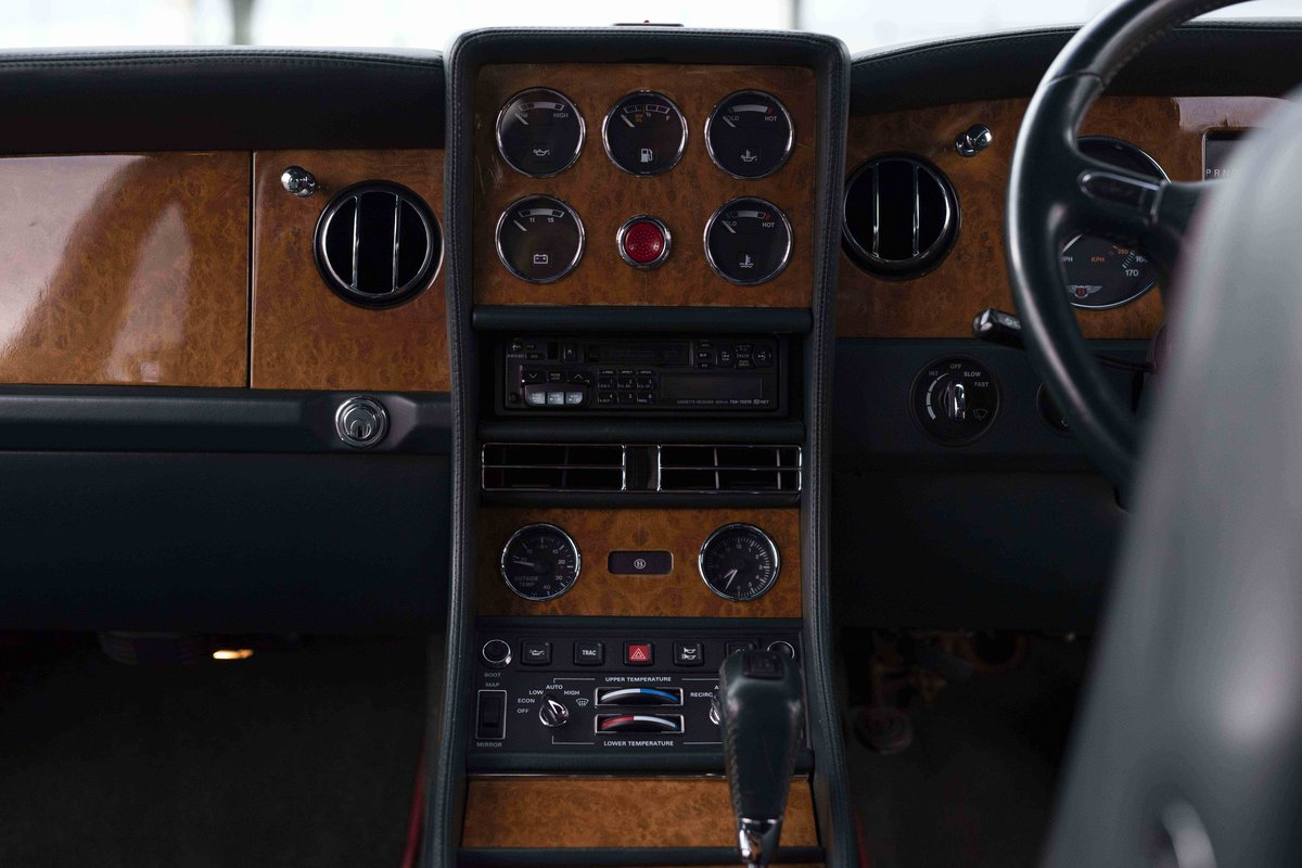 1998 Bentley Continental R Mulliner Coupe 'Jack Barclay' Lim For Sale (picture 9 of 12)