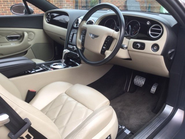 2007 Bentley Continental GT Coupe Mulliner Only 30100 Miles FBSH For Sale (picture 1 of 6)