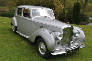 BENTLEY MK VI - 1952 BIG BORE MODEL SOLD