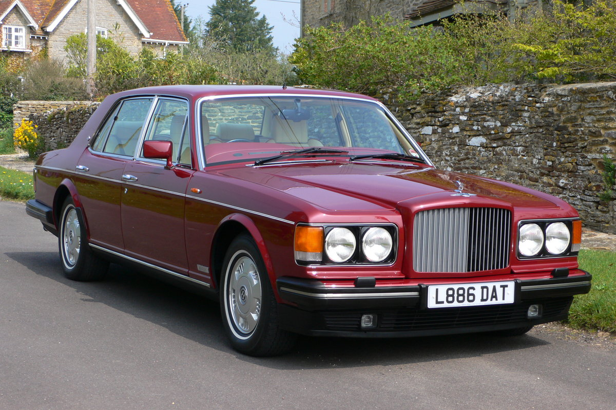1993 Bentley Brooklands For Sale by Auction (picture 1 of 5)