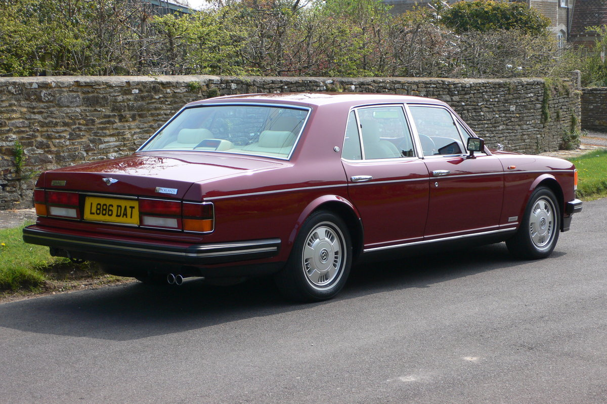 1993 Bentley Brooklands For Sale by Auction (picture 2 of 5)