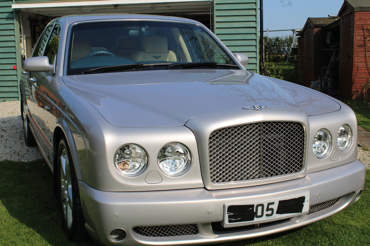 2005 Bentley Arnage t Mulliner  For Sale (picture 1 of 5)