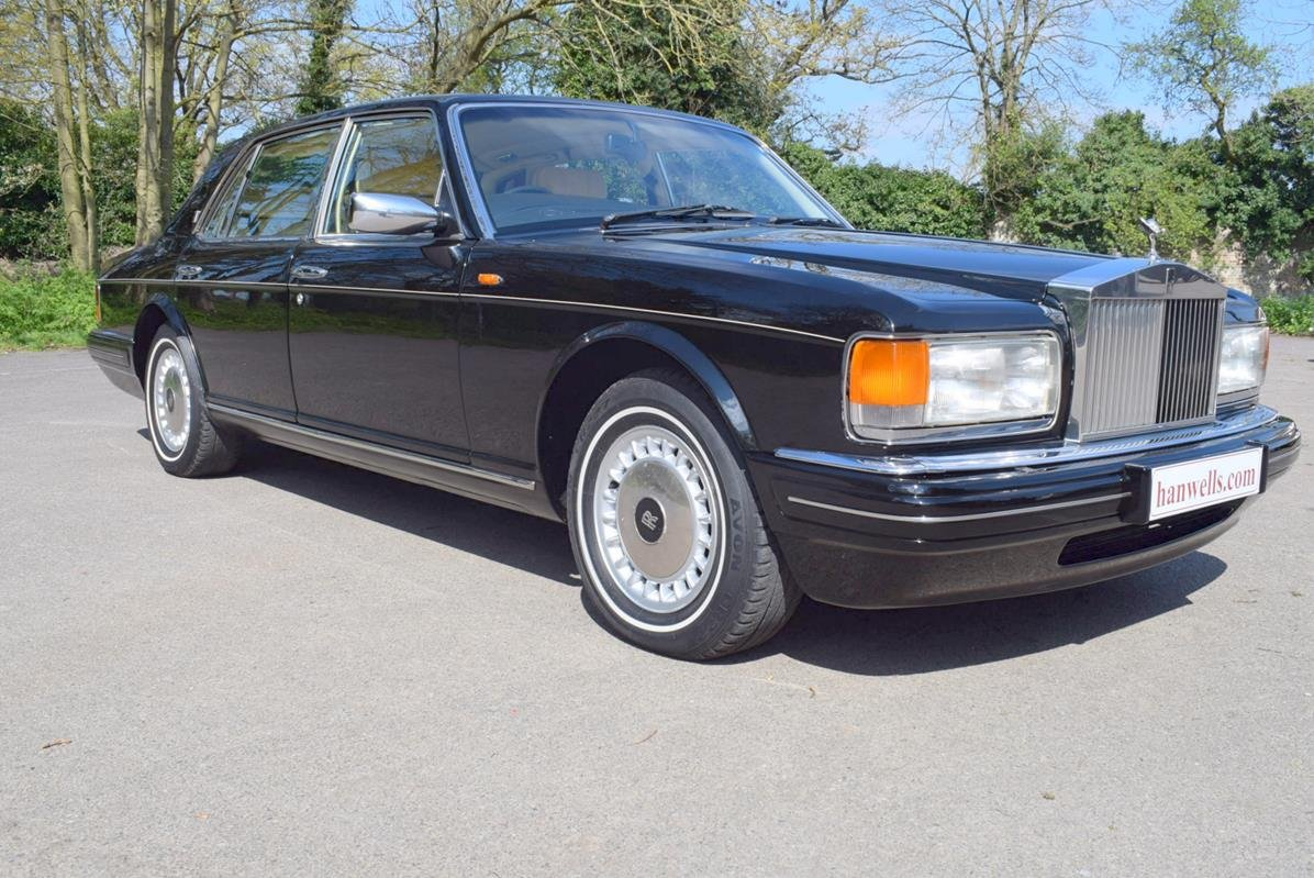 1996 P Rolls Royce Silver Spur MK IV in Masons Black For Sale (picture 1 of 6)