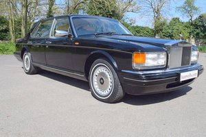 1996 P Rolls Royce Silver Spur MK IV in Masons Black For Sale